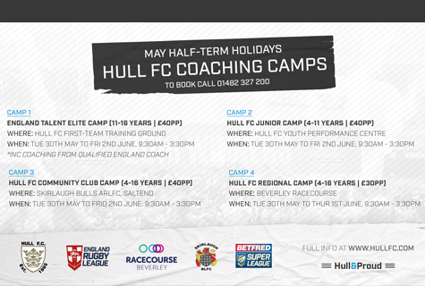 May Half Term Camps