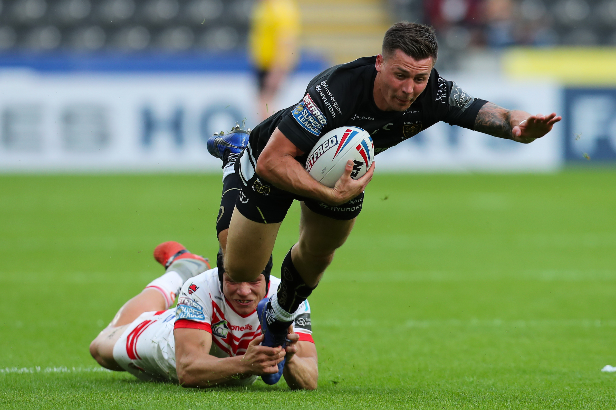 Jamie Shaul could be one of the key men for Hull FC tonight