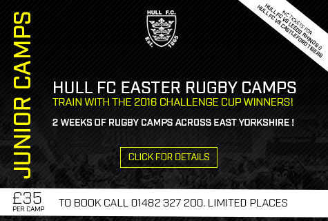 Hull FC Easter Rugby Camps