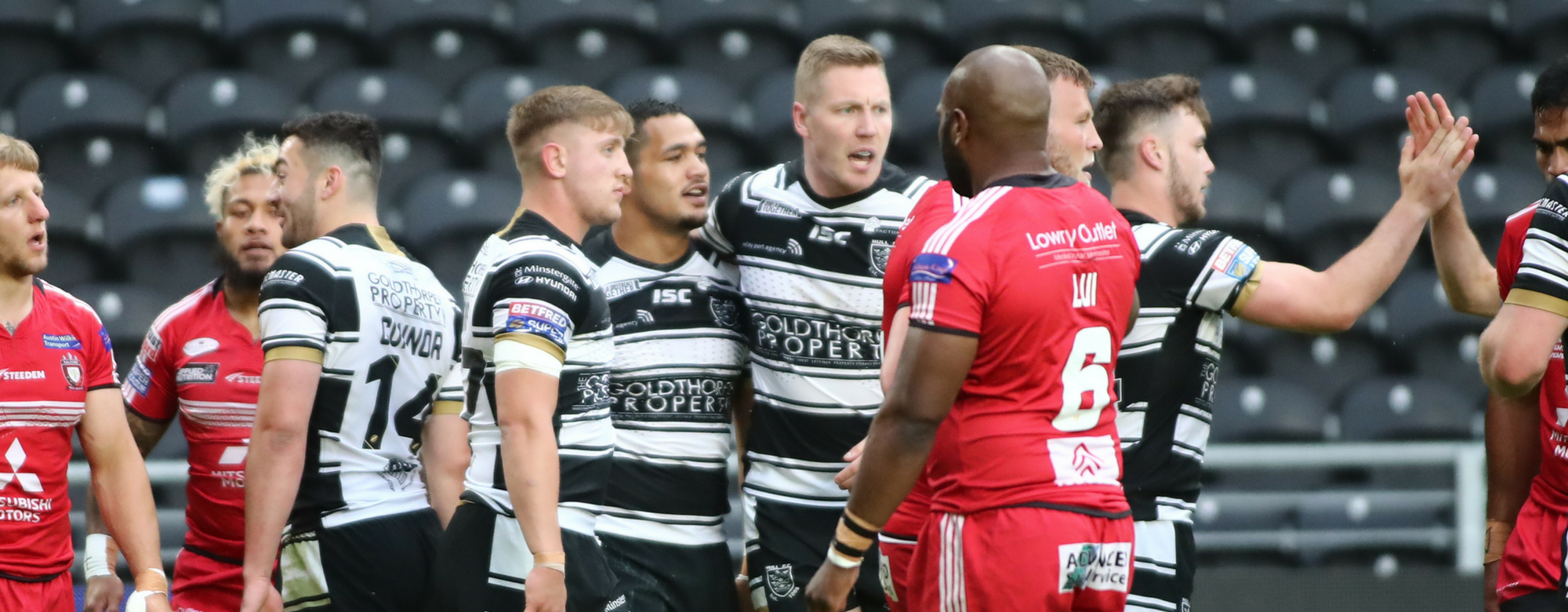Ruthless Black & Whites Run Riot Against Salford