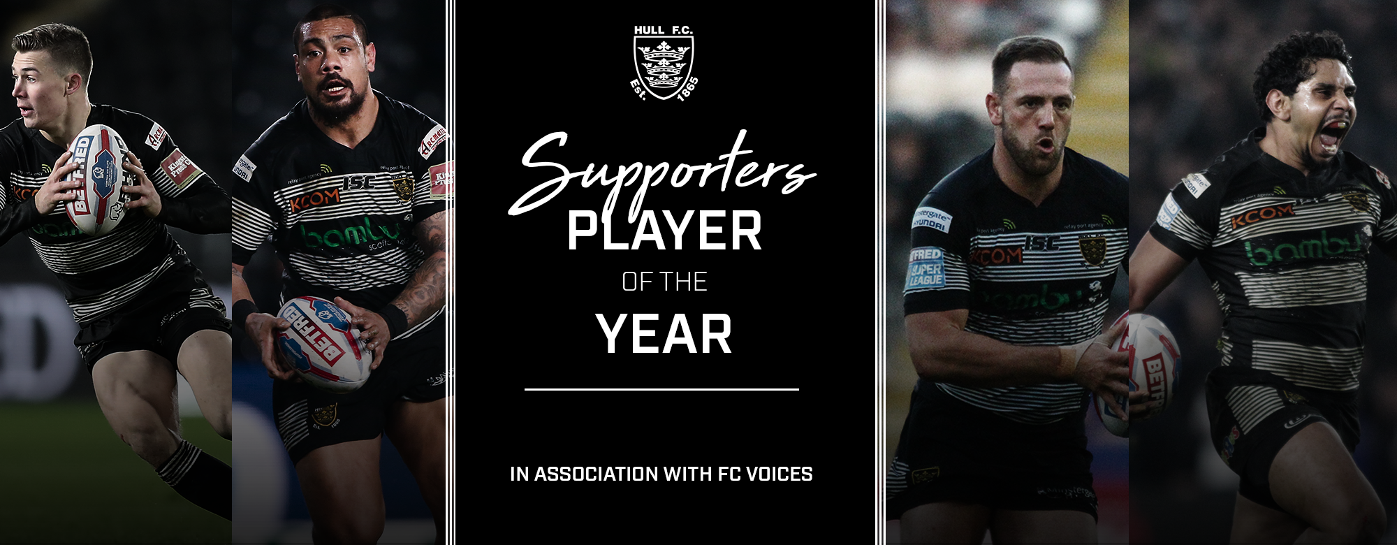 2017 Supporters' Player of the Year Shortlist Confirmed