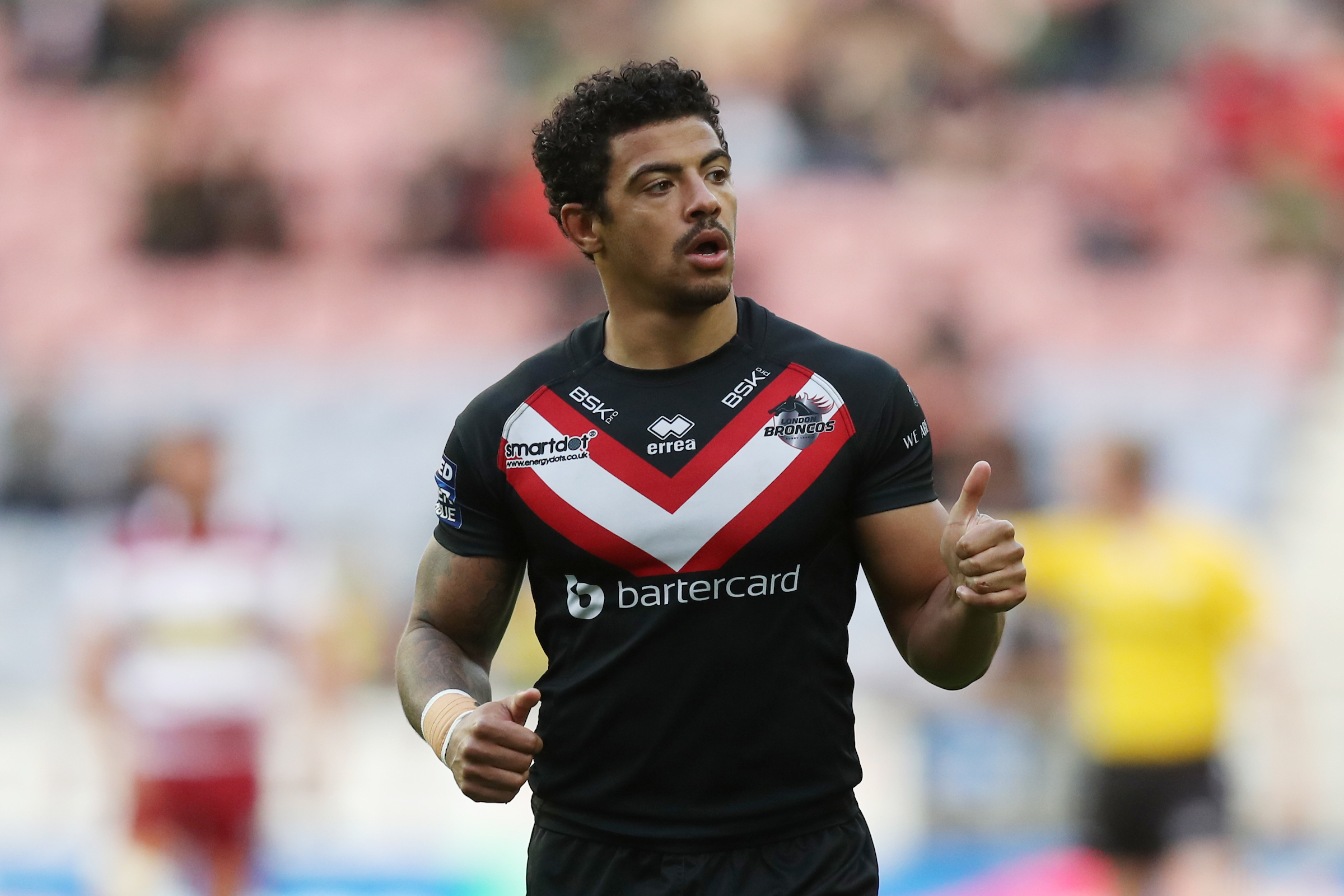 London Broncos fronted up in the second half against Warrington Wolves
