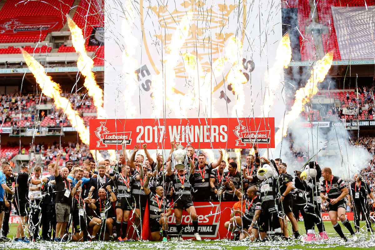 2017 saw the Black & Whites retain the Challenge Cup for the first time in their history, after being victorious for the first time at Wembley in 2016.