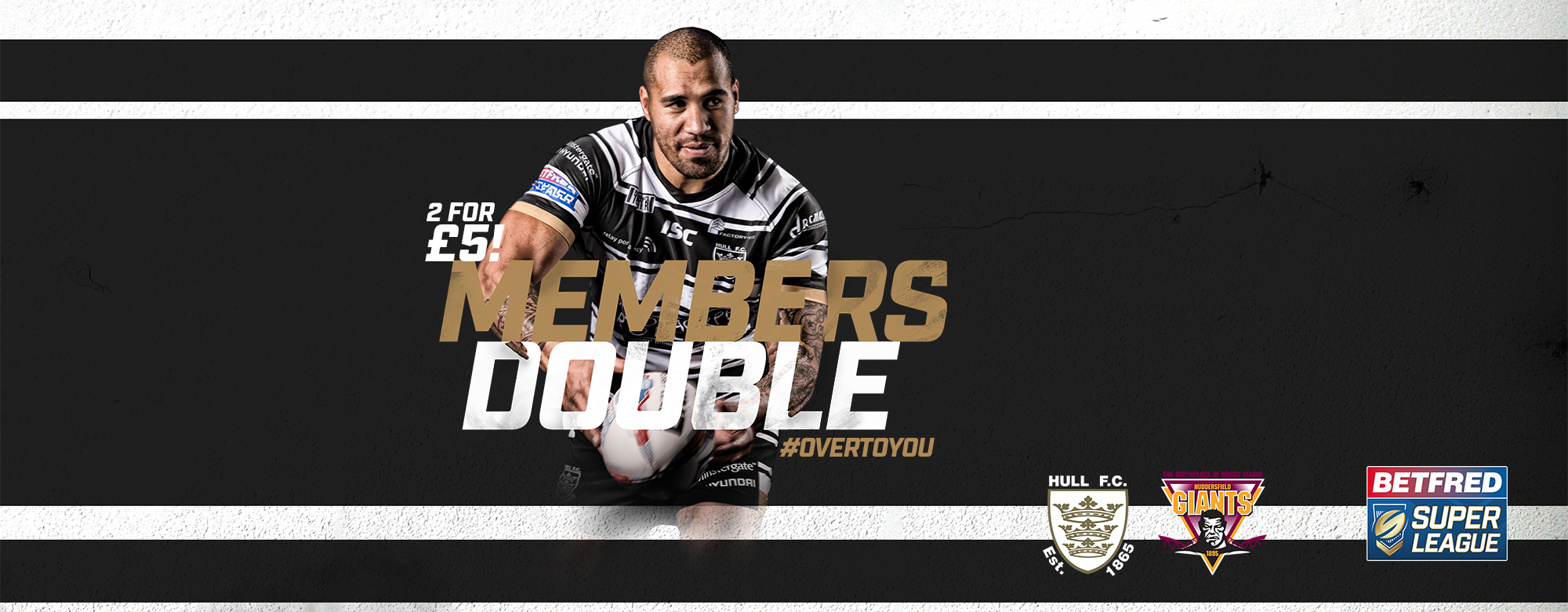 #OverToYou: East and South Stand Unreserved Sections Sell Out for Huddersfield Clash!