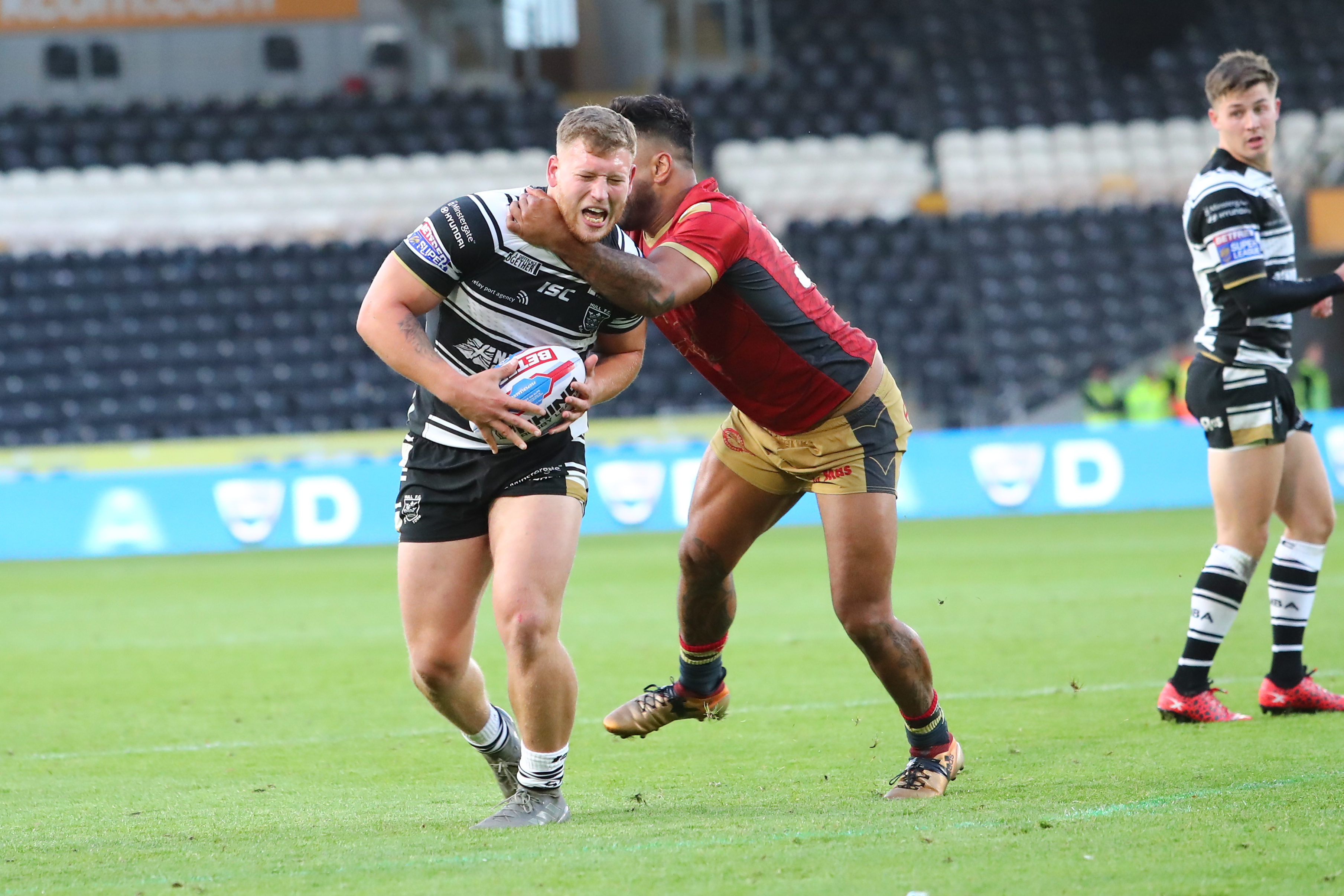 4a0d9798d9f 19-year old prop Lewis Bienek originally signed for the Black & Whites from  the 2019 season back in March, but was called up into the first-team squad  ...