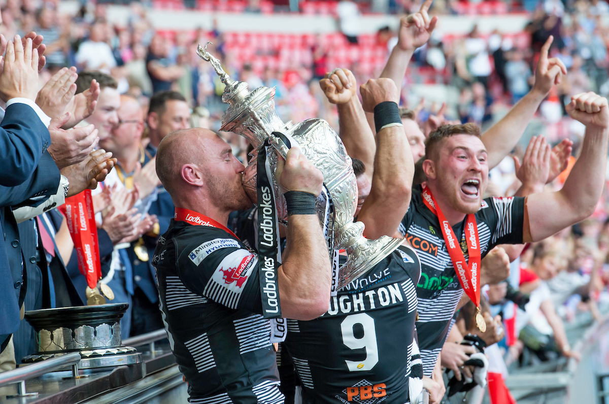 The Black & Whites ended their Wembley hoodoo in 2016, beating Warrington 12-10 at the national stadium on arguably the club's greatest day in its history.