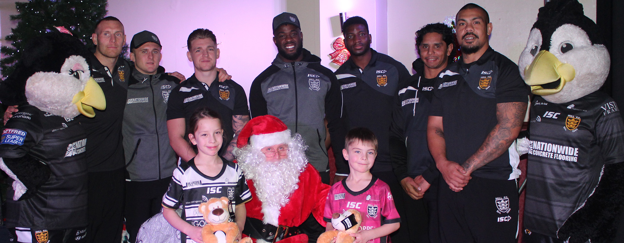 Meet The Players at 2019 Junior Christmas Party!