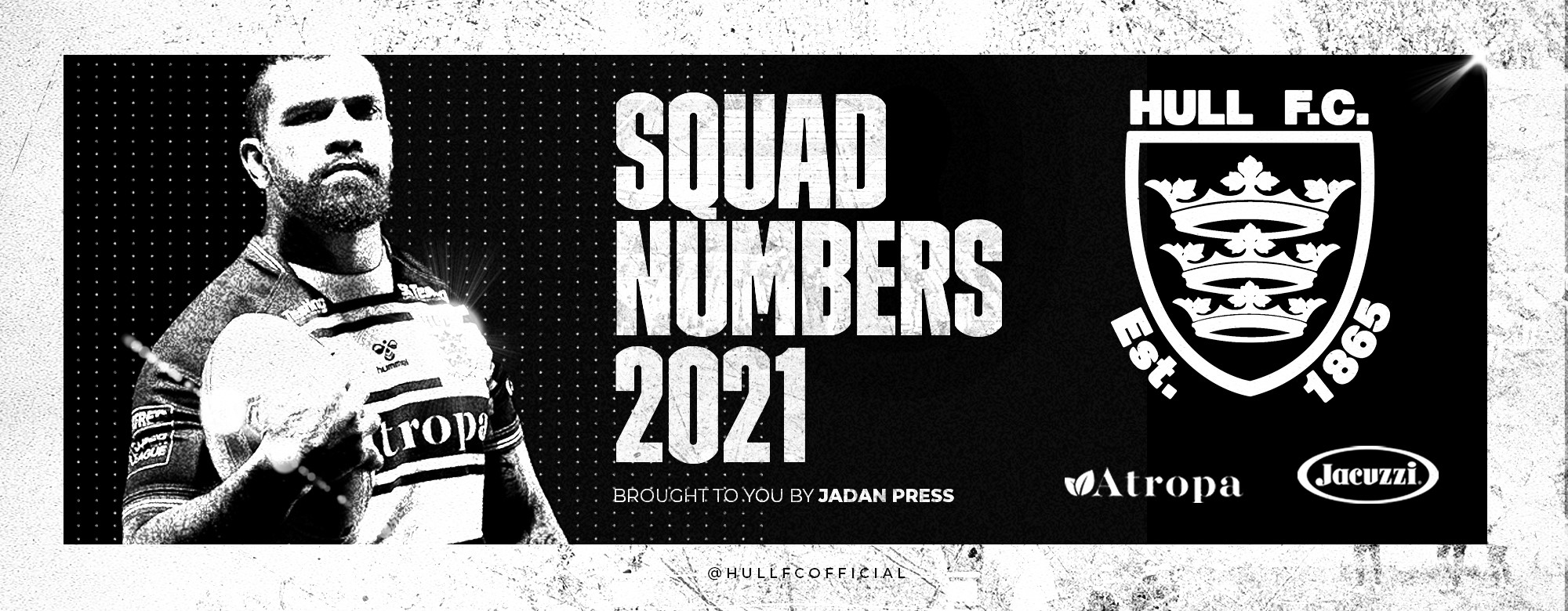 Squad Numbers Confirmed For 2021 Campaign
