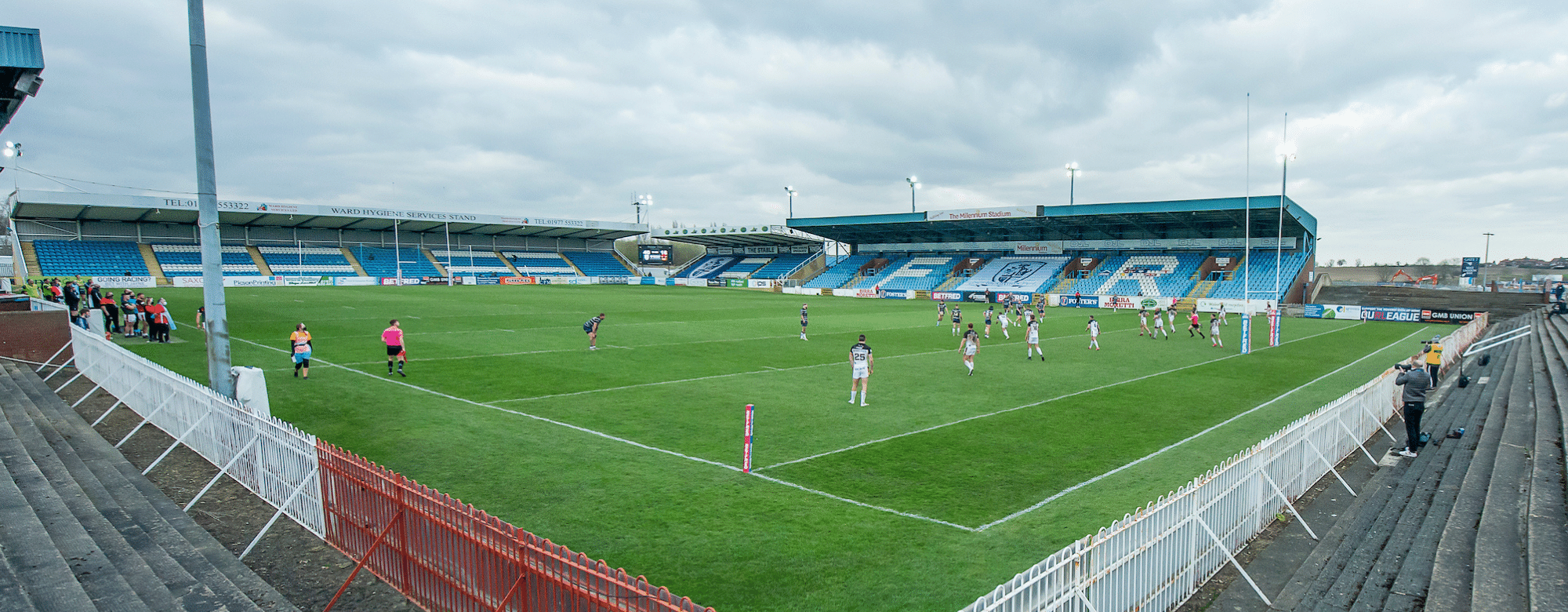 Up Next: Featherstone Rovers (A)