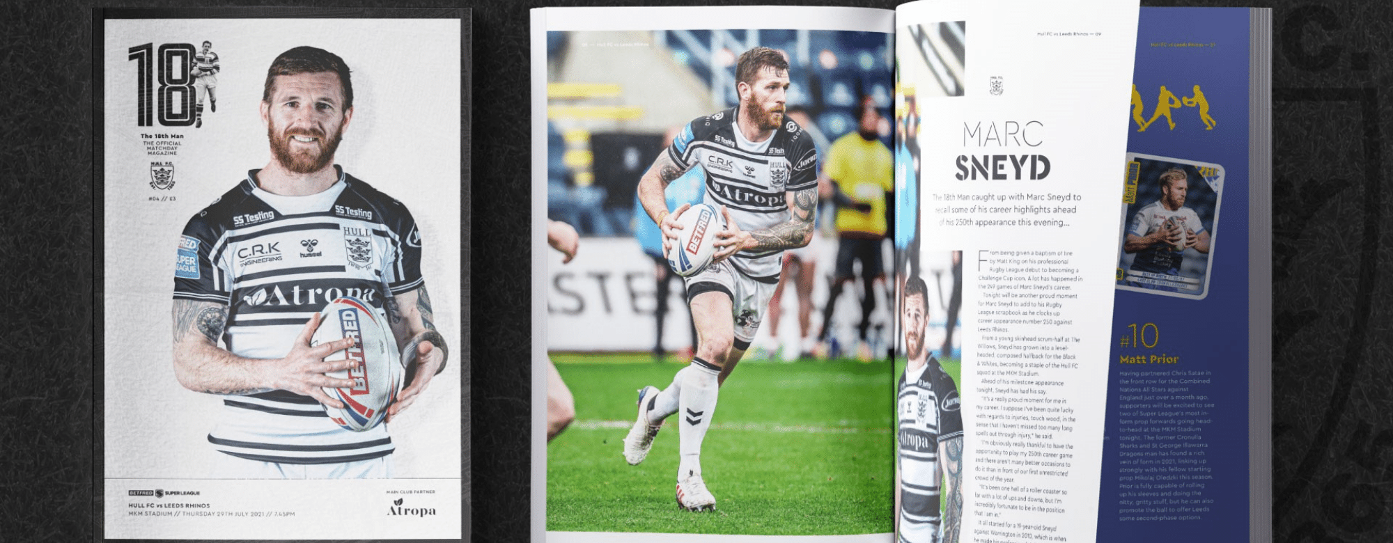 Match Day Programme Available Tonight